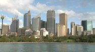 Stock Video Footage of Sydney Skyline (1 of 4)