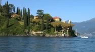 Stock Video Footage of colonno villa balbianello 02