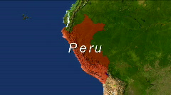 Zooming Into Peru Stock Footage