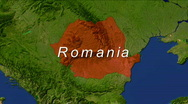 Stock Video Footage of Zooming into Romania