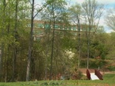 Bldg In Trees int001 Stock Footage