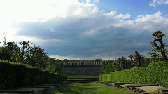 Germany Saxony Grosssedlitz Heidenau Barock garden Stock Footage