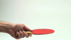 Ping pong slow motion - HD  - stock footage
