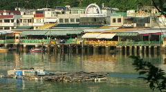 Fishing Village - Lamma Stock Footage