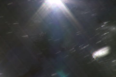 Water of the Rhine close up with shimmering and sparkel Stock Footage