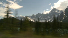 Drive plate, mountains late spring, drive, #7 Stock Footage