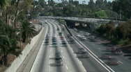 Stock Video Footage of Los Angeles freeway time lapse - HD