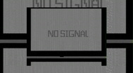 Stock Video Footage of nosignal0005b