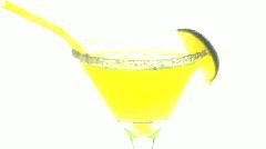 Neon margarita Stock Footage