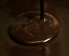 Pouring Chocolate Stock Footage