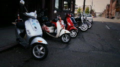 Scooters Stock Footage
