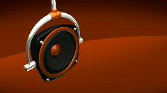 Speaker - stock footage