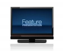 Feature Presentation Stock Footage