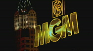 Stock Video Footage of MGMSignNYNY