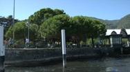 Stock Video Footage of cernobbio port 01