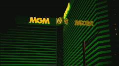 MGMGrandHotel multi Stock Footage