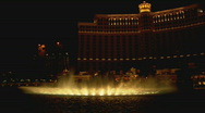 Stock Video Footage of BellagioFountainDisplay