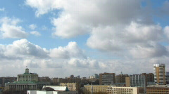Moskow sky Stock Footage