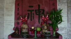 China Hong Kong Ping Shan heritage Tang Clan Stock Footage