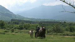 Bulgaria countryside  Stock Footage