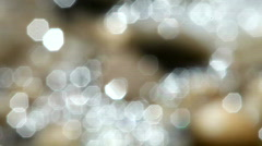 Motion Water effect in outfocus Stock Footage