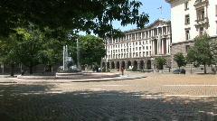 Bulgaria fountain Stock Footage