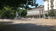 Stock Video Footage of Bulgaria fountain
