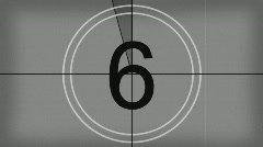 Countdown old Stock Footage