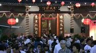 China Hong Kong Chinese banquet Big Bowl feast Poon Choi preparing Stock Footage