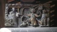 China Hong Kong Ping Shan heritage trail museum Stock Footage