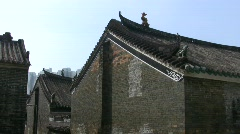 China Hong Kong Ping Shan heritage trail museum Stock Footage