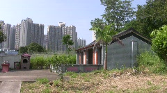 China Hong Kong Ping Shan heritage Tang Clan Stock Footage