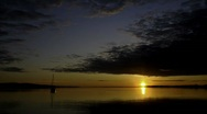 Stock Video Footage of Sunrise on the Bay II