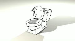 Toilet Stock Footage