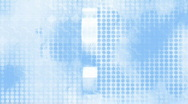 Blue and White Dollar Sign background (loop) Stock Footage