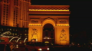Stock Video Footage of ParisLasVegas multi