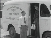 Stock Video Footage of 40s dairy store