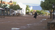 Tombstone Arizona - Sheriff walking Stock Footage