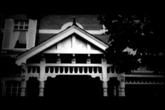 Old footage 21- Creepy house - stock footage