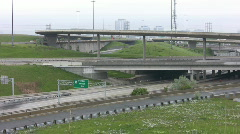 Timelapse. Highway intersections.  Stock Footage