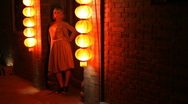 Red Light District Stock Footage
