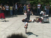 NYC Breakdance 9 of 10 Stock Footage