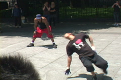 NYC Breakdance 10 of 10 Stock Footage