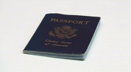 Stock Video Footage of United States passport - HD