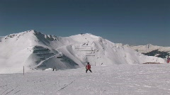 Skiing Stock Footage