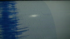Seismograph  Stock Footage