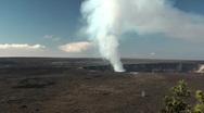 Volcano,big island, hawaii Stock Footage