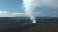 volcano, hawaii, big island - stock footage