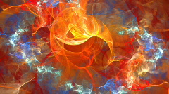 Fractal Swirly Stock Footage
