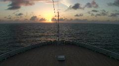 Romantic Honeymoon Cruise Stock Footage